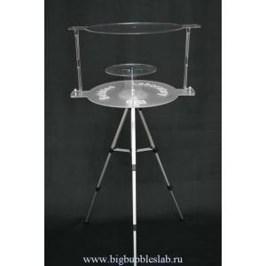 Стол двухъярусный, с подсветкой+сумка-чехол+комплект трубок 4 шт