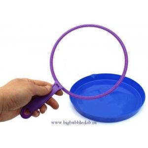 Комплект: ракетка профессиональная нарезная 180 мм+тарелка