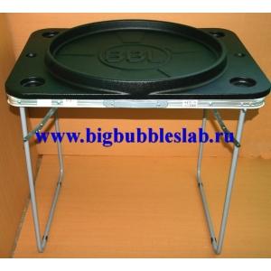 Емкость 60 см со столешницей 85 Х 65 см+Складной стол-подставка 80 см х 60 см х 70 см