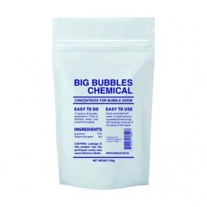 Концентрат BIG BUBBLES CHEMICAL для раствора гигантских мыльных пузырей.